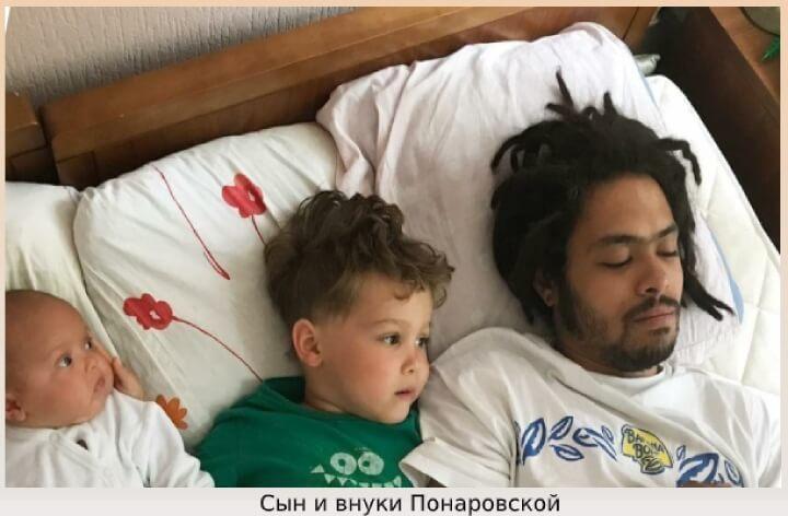Сын и внуки