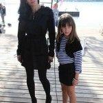 Актриса с младшей дочкой