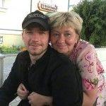 Александр Петров с мамой