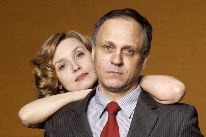 Алентова с супругом