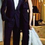 Дочь актеров с мужем