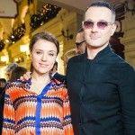 Егор Бероев с супругой