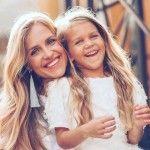 Милена Руденко с мамой