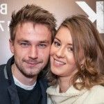 Ирина Старшенбаум со своим молодым человеком