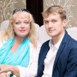 Любовь Руденко с сыном