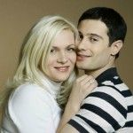 Макарский с женой