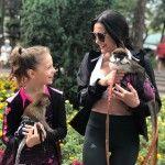 Виктория Полторак с дочерью Софи