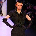 Внучка Зайцева на модном показе
