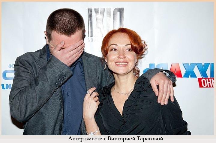 Актер вместе с Тарасовой