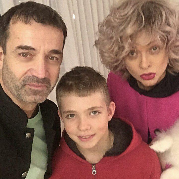 Певцов с сыном