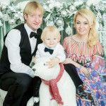 сын и жена Плющенко